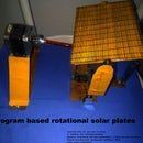 Program Based Rotational Solar Plates