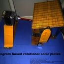 Program Based Rotational Solar Plates
