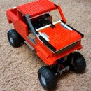 RC Lego Truck With Manual Transmission