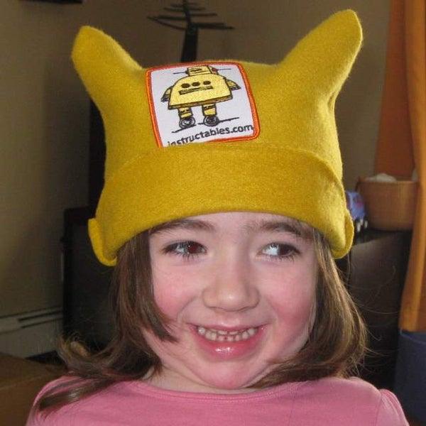 Super Easy Fleece Hat