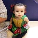 My Sparkley TMNT (Toddler Mutant Ninja Turtle) Costume!