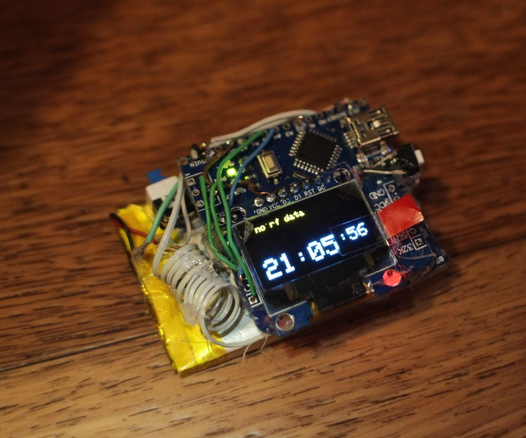 watch + weather station