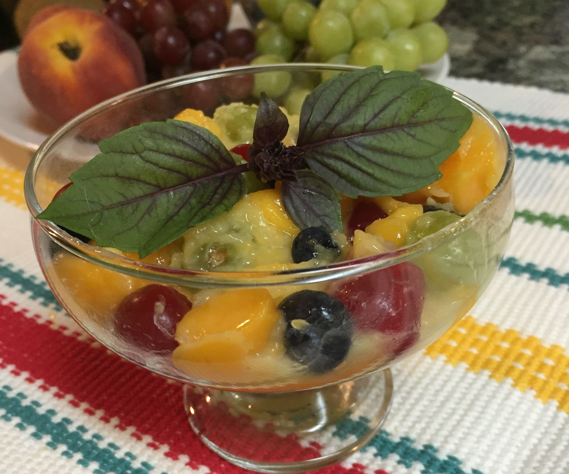 Good for You Rainbow Fruit Salad