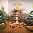 Easy three piece flat pack Christmas tree