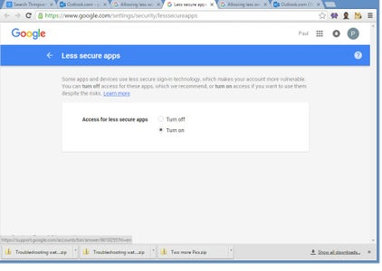 Configure Gmail So That the Raspberry Pi Will Be Able to Send Emails.