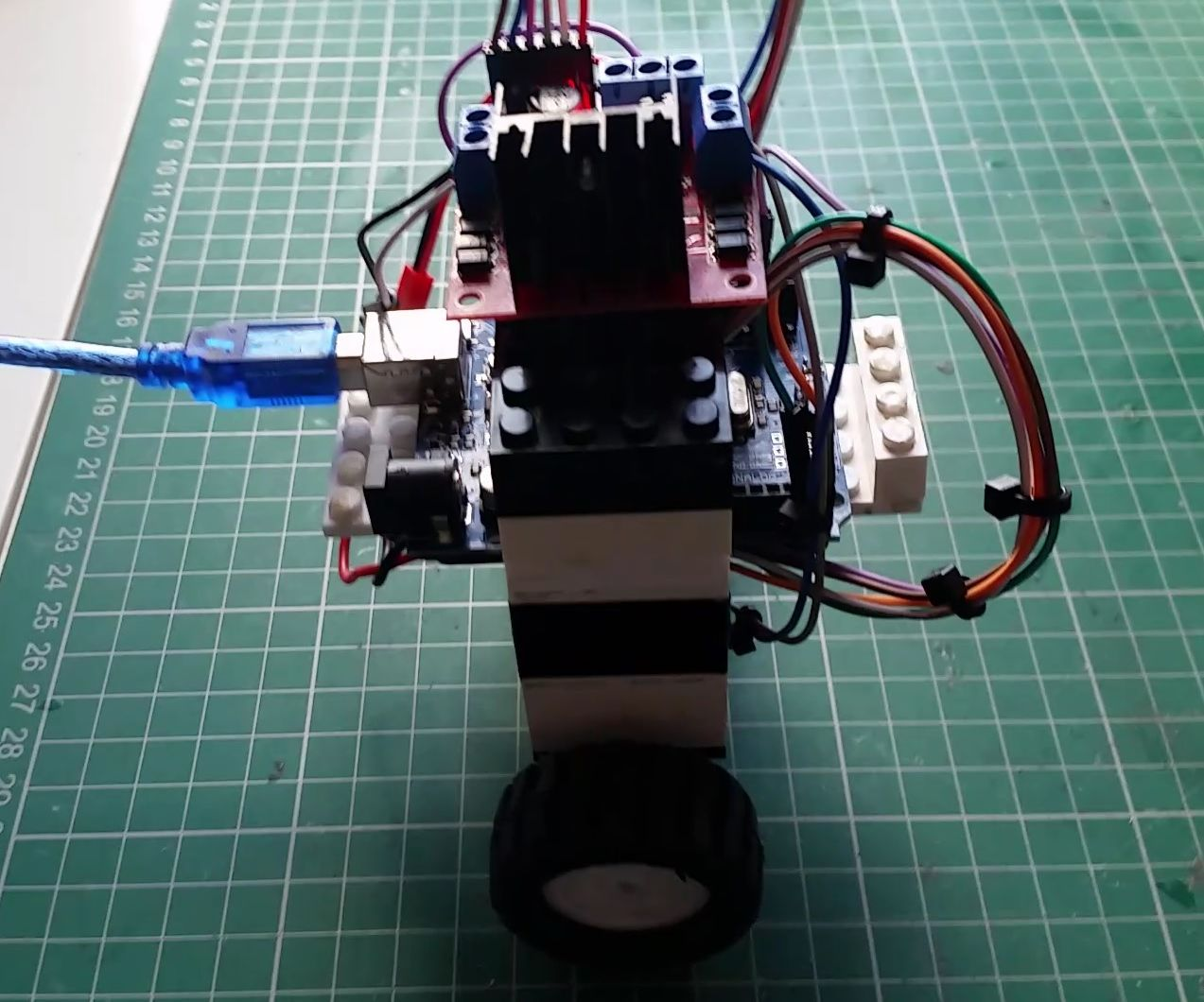 2 Wheeled Self Balancing Robot