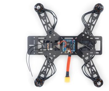 Build 250 FPV Drone in Sample Steps