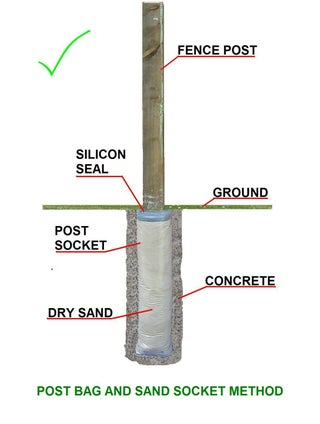 How To Fix And Then Extract A Fence Post With Ease 12 Steps Instructables