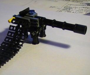 Realistic LEGO Minigun
