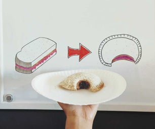 How to Make 'Uncrustables' Peanut Butter and Jelly Sandwiches.