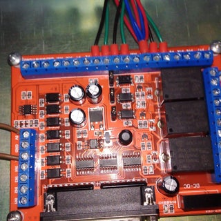 6 Axis CNC MACH3 Engraving Machine Interface Breakout Board USB PWM Spindle With ASKPOWER A131 Series
