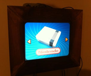 < 50$ Wall Mounted Arcade Cabinet