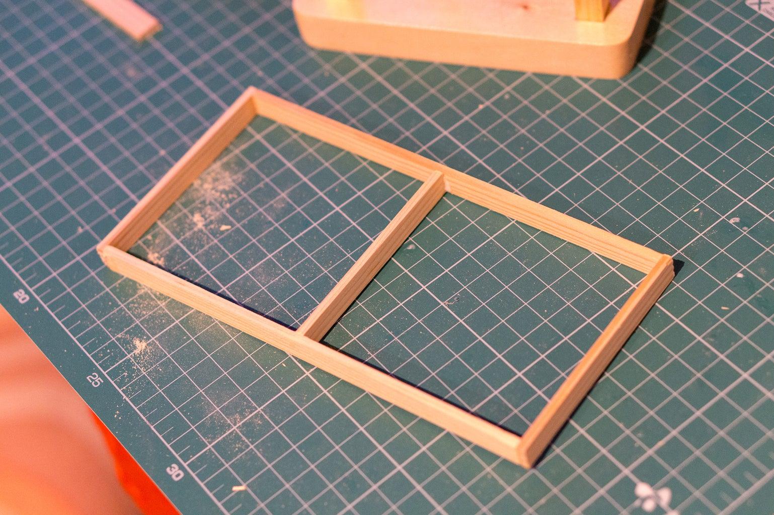 Prepare the Small Window Frames