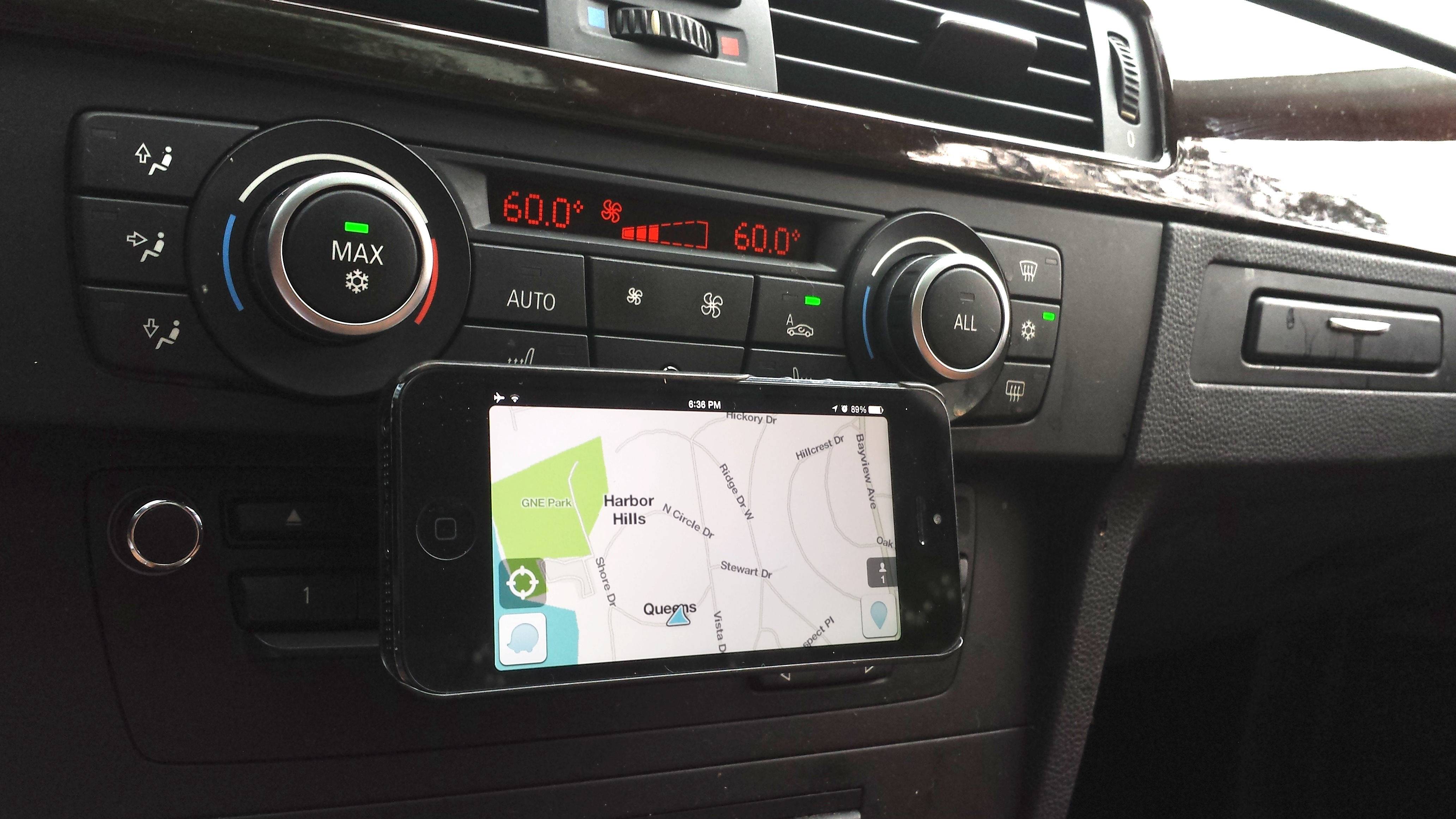 Magnetic Car Mount for iPhone, Droid and other Smartphones