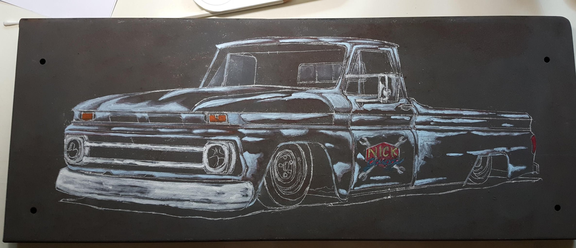 Paint the Truck.