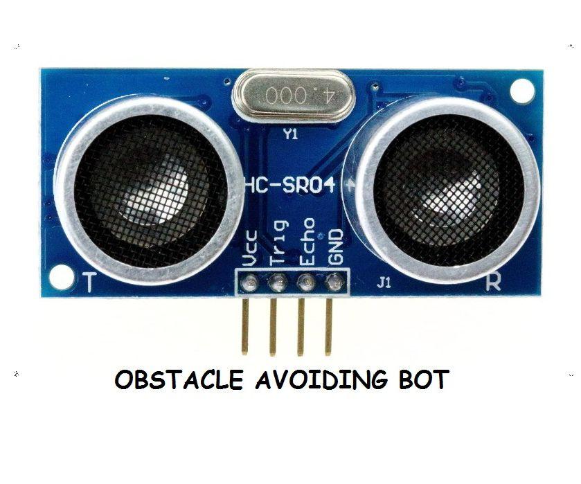 Obstacle Avoiding Bot