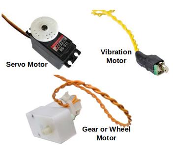 Three Different Motors