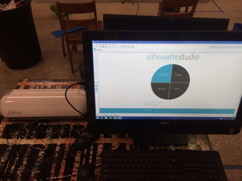 Step 2: Open the Silhouette Studio Design Software