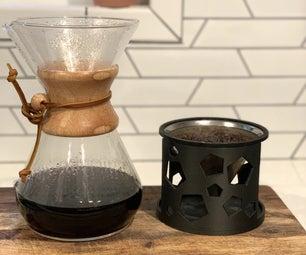 3D印刷咖啡筛过滤器