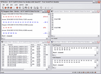 Protocol Analyzer Using Serial Port