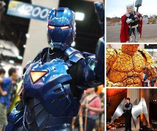 DIY Marvel Superhero Costumes