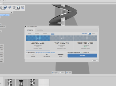 The Secret Step to Get the Motion Study Render Button