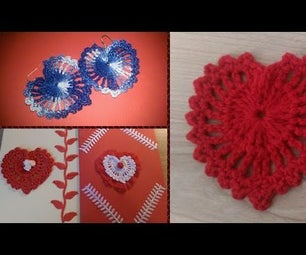 Crochet Heart - Decoration for Valentine's Day
