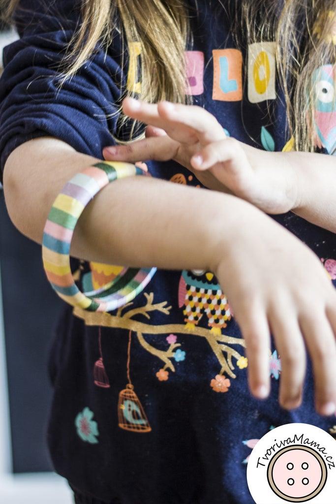 Washi Tape Bracelet