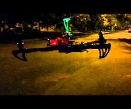 Quadcopter Collision Avoidance Using Sharp IR Sensors