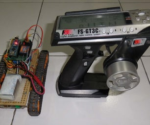 How to Control Tracked Robot Via 3-Channel RC Transmitter + Arduino