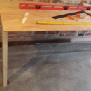 Cheap Wall-Mounted Folding Work Table