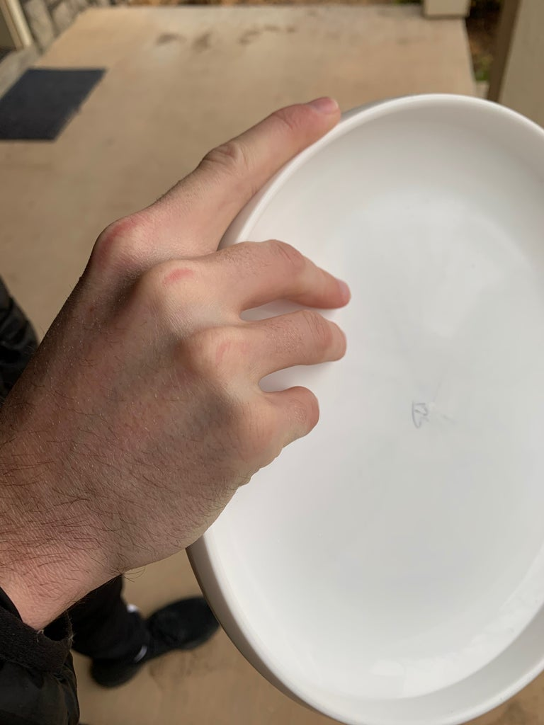 Place the Frisbee in Your Dominant Hand.