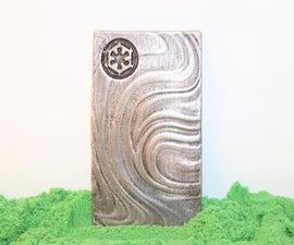 Mandalorian Beskar - Kinetic Sand Casting