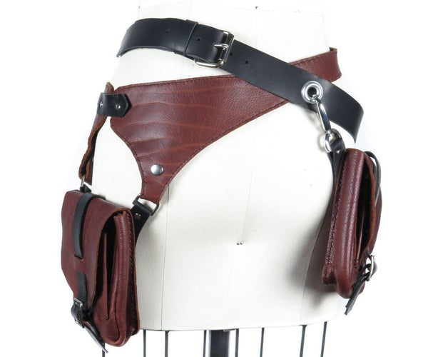 Leather Pocket Belts