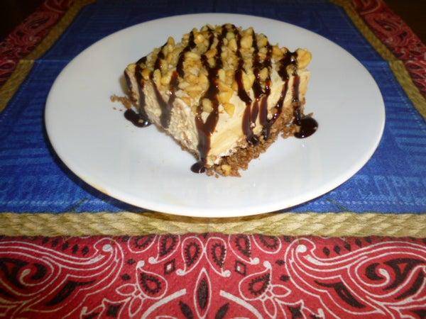 Quick Peanut Butter Pie (Gluten Free!)