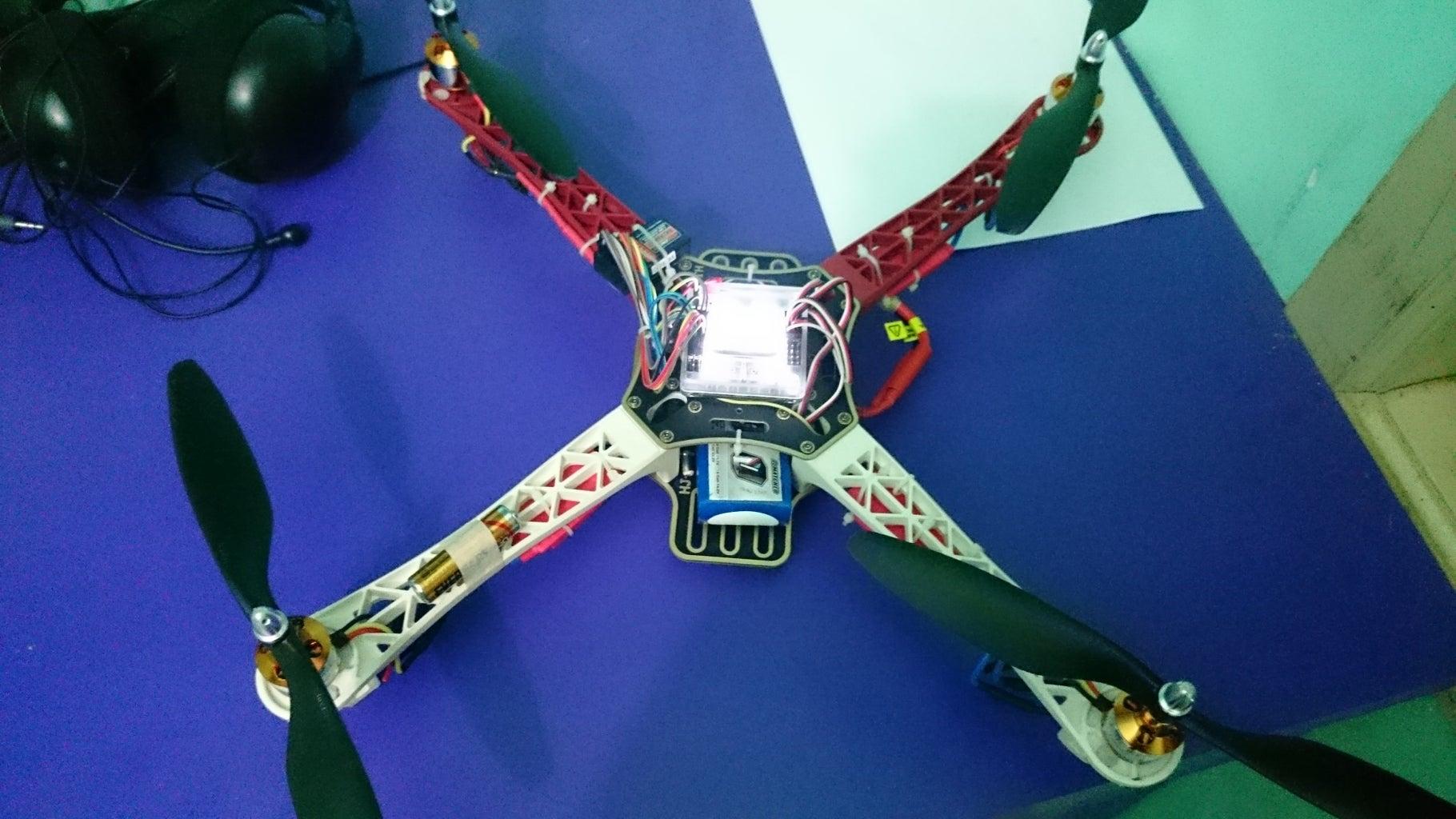 Finalizing the Drone and KK2 Setup