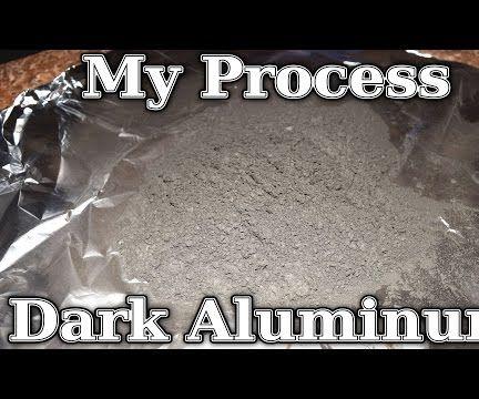 Dark Aluminum Powder in Bulk (Remake)
