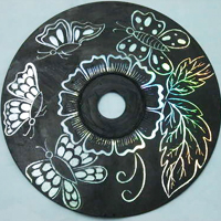 CD Scratch Art