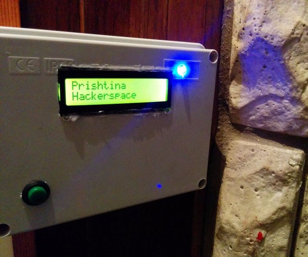 HACCSY - Hackerspace Access Control and Check in System