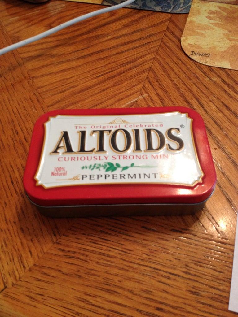 Acquire Altoids Tin