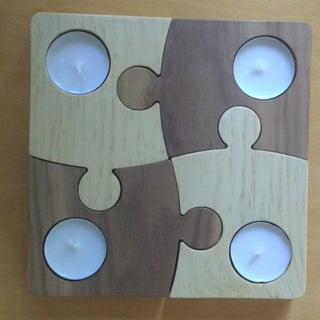 Puzzle Tea Light Holder