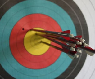 DIY Archery Target - Puzzle Mats