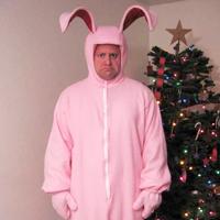 Christmas Story Bunny Costume