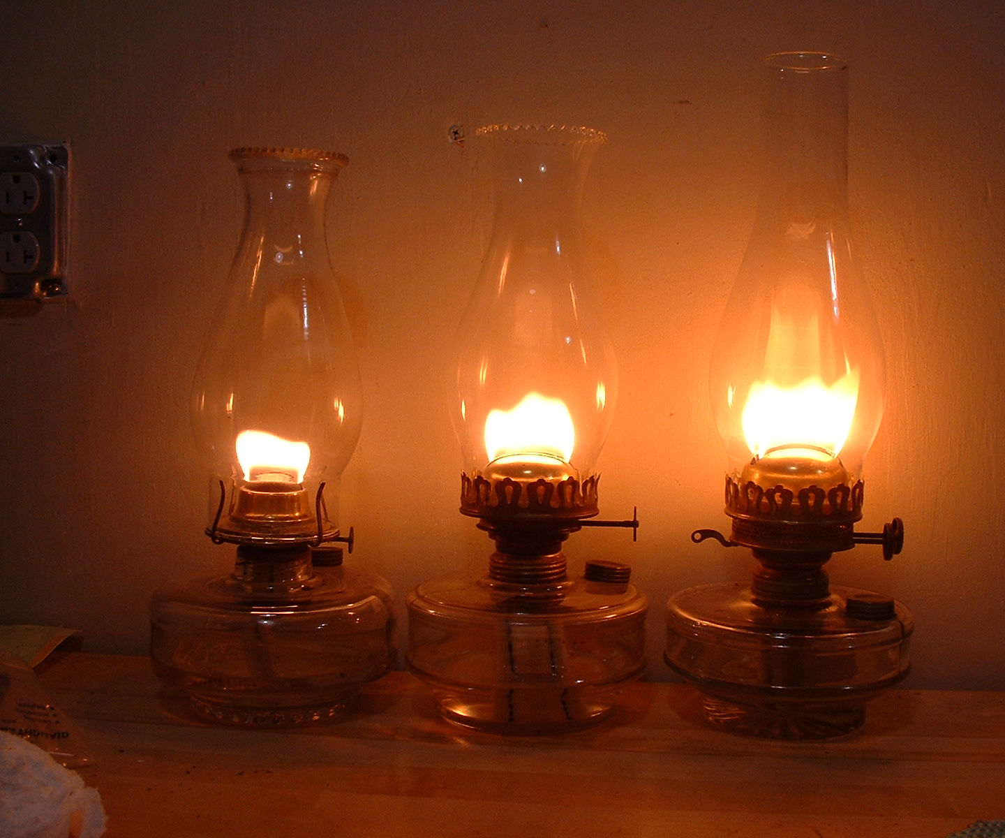 Modding Kerosene Lamp Burners