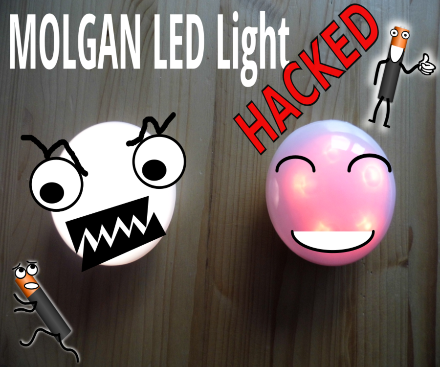 IkeaHack: MOLGAN LED Light