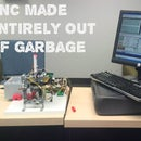 CNC Made From Garbage