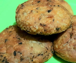 ONLY 3 Ingredients Savoury Cookies!!!!!