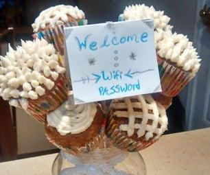 Cupcake Bouquet & Wifi Password