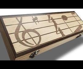 Marquetry Instrument Case