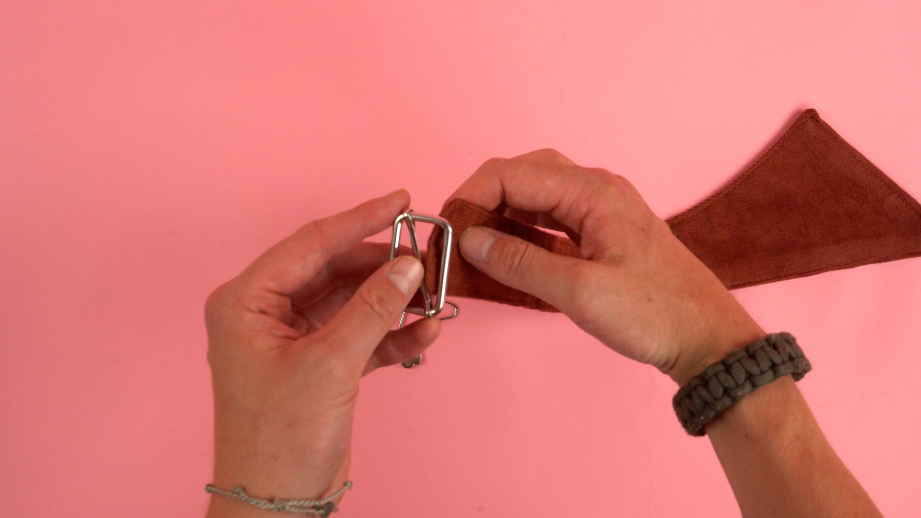 Adding Strap Buckles (Step 1)